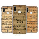 HEAD CASE DESIGNS MUSIC SHEETS HARD BACK CASE FOR XIAOMI PHONES