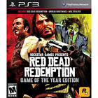 Red Dead Redemption Game Of The Year Edition For Playstation 3 Ps3 Brand New!