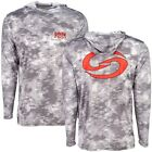 Strike King Long Sleeve Moisture Management Hoodie - Gray Scale, Choice of Sizes