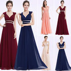 Bridesmaid Dresses Gown Long V Neck Formal Evening Dresses Homecoming Dresses