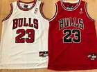 NWT Michael Jordan #23 Chicago Bulls Mens Throwback Red Jerseys Men's