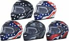 Kyпить AFX FX-99 Flag Full Face Motorcycle Street Helmet Adult All Sizes and Colors на еВаy.соm