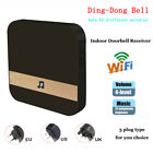 Home 52-melodies Chime Ding Dong Wireless WiFi Door Bell Receiver UK EU US Plug