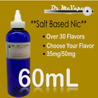 35+ Flavors. 60mL--USA | Fast Shipping | 35,50 SALT | Juice <br/> **Authorized Seller**