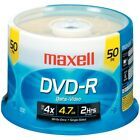 Maxell 4.7gb 120-minute Dvd-rs (50-ct Spindle) MXLDVDR50S