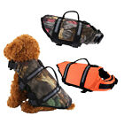 Swimming Life Jacket Float Vest Reflective Water Safety Saver Pet Dog Preserver-
