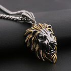 Fashion Vintage Style Mens Stainless Steel Rope Chain Pendant Necklace Jewelry