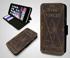The Dark Forces A Guide to Self Protection Harry Potter Leather Phone Case
