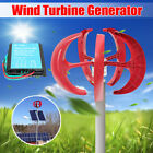 600W 12V/24V Wind Turbine Generator 5 Blade Windmill Power Charge+ Controller for sale  Shipping to Canada