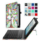 For Kindle Fire HD 10 7th Generation 2017 Release Bluetooth keyboard Case Cover