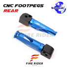 For Buell XB9S Lightning XB9SX City Cross 03+ Passenger Footpegs Footrests