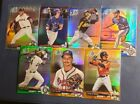 2017 Bowman Draft Chrome Refractor Sky Blue 70th Purple Green Gold Orange U Pick