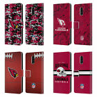 OFFICIAL NFL 2018/19 ARIZONA CARDINALS LEATHER BOOK CASE FOR BLACKBERRY ONEPLUS