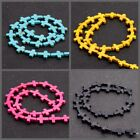 """16/"""" Howlite Turquoise Gemstone Color anomaly Loose Spacer Beads 11MM"""