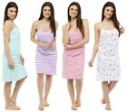 Follow That Dream Ladies Cotton Printed Strappy Chemise Nightie