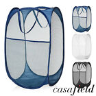Внешний вид - Collapsible Mesh Pop Up Laundry Clothes Hamper Basket - Bathroom/Kids/Nursery