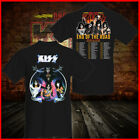 KISS Band T-Shirt End Of the Road Farewell Tour Dates 2019 Concert For Fan Tee image
