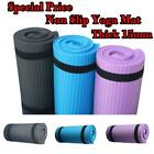 Внешний вид - 23.6x9.8Inch Yoga 15mm Thick Gym Exercise Fitness Pilates Workout NonSlip Mat