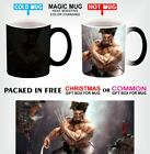 WOLVERINE X-MEN SUPERHERO Magic Color Change Coffee Mug 11 Oz With Gift Box D1 image