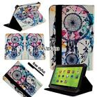 """For 7"""" 8"""" 10.1"""" Zeki Tablet - Folio Stand Leather Cover Case + Stylus"""