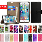 Case For Apple iPhone 6s 6 Luxury Magnetic Wallet Flip Leather Stand Phone Cover