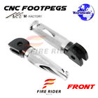 For Buell XB9SX City Cross 2003+ 03+ FRW CNC Billet Front Footpegs