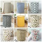 Standing Laundry Hamper Basket Clothes Toys Storage Bins Organizer USA