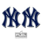 New York Yankees NY 2-Pack Vinyl Decals - MLB - FREE Shipping - Bronx Bombers on Ebay