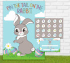 Easter Pin The Tail On The Bunny Game - Activity Children Family Fun