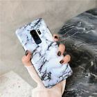 For Samsung Galaxy S8 9 Plus Note Slim Fit Marble Case Protective Phone Covers фото