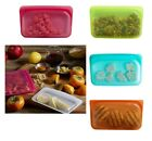 Stasher Reusable Silicone Food Snack Bag: Choose Color (New)