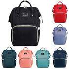 Waterproof Mummy Diaper Bag Backpack Large Capacity Baby Maternity Nappy Tote