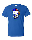"""""""NEW"""" Los Angeles Dodgers Hello Kitty  T-Shirt Adult and Kids on Ebay"""