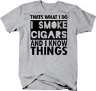 That's What I Do I Smoke Cigars and Know Things Tyrion Lannister Tshirt
