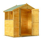BillyOh Keeper Overlap Apex Shed. Wooden Garden Shed with Roof and Floor Inc.