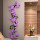 Diy 3d Home Living Room Decor Flower Removable Wall Sticker Decal Mural Striking