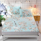 Waterproof Cotton Fabric Bedding Fitted Sheet/Mattress Cover 120x200cm