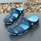 Mens Water Sandals Beach Shoes Closed Toe Outdoor Sport Slippers Walk Hole Shoes