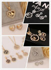 New Charm Women Jewelry hollow out M @ K fashion Necklace with earrings 3 style