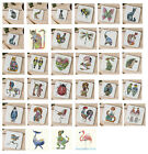 The DM Collection Coasters Animal Bird Drinks Coasters Daniel Mackie