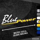 New Holland Blue Power Sticker / Decal - Multiple Sizes & Colours - Tractor