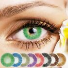 1Pair Women Colored Contact Lenses Attractive Eye Makeup for Cosplay Party Graci