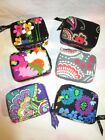 VERA BRADLEY TRAVEL PILL CASE Zipper Medicine College Vacation
