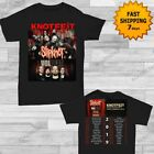 Slipknot And Volbeat Knotfest Roadshow 2019 Tour T-Shirt Size Men Black Shirt  image