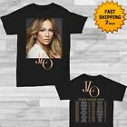 Jennifer Lopez Tour Dates 2019 T-Shirt full Size Men Black Gildan tee Shirt image