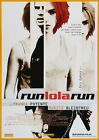 RUN LOLA RUN 1998 Tom Tykwer, Franka Potente – Movie Cinema Poster Art