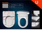UK Non-Electric Smart Bathroom Bidet Toilet Seat Cover With Dual Nozzles Sprayer