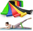Exercise Bands Resistance Fitness Workout Stretch Elastic Loop Legs Therapy