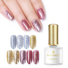 BORN PRETTY 6ml Gold Silver Glitter UV Gel Soak Off Sequins Nail Art Gel Varnish