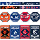 New MLB Pick Your Team Sign Home Office Bar Room Decor STOP STREET PARKING SIGN on Ebay